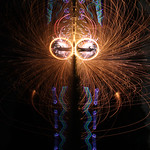 Fire & Light Mask 94 - Silhouette Eyes 2 thumbnail