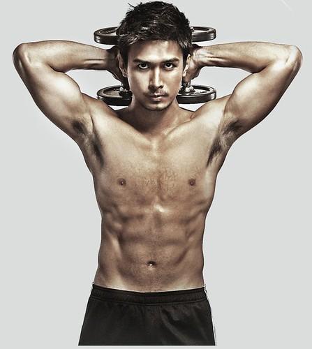 Christian Bautista asian shirtless hunk