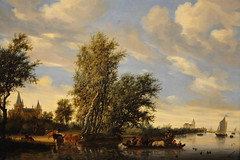 Salomon van Ruysdael - River Landscape with Ferry at National Art Gallery (mbell1975) Tags: art dutch ferry museum river painting landscape golden smithsonian gallery museu with grand musée musee m national age artists museo masters van muzeum nga salomon müze ruysdael museumuseum