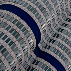 Blue ribbon (on1stsite.) Tags: germany munich headquarters bmw archtecture 4cylinder 4zylinder unusualviewsperspectives