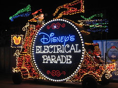 Disney's Electrical Parade. (04/17/2010)
