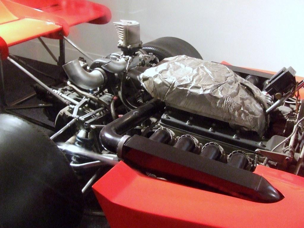 1972 Lola Racing Car Engine