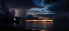 Antigua sunset (Gingeminge) Tags: sunset beach nikon sigma antigua lightning 1020 2009 d300