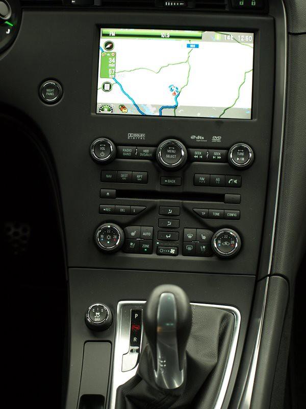 New Saab 9-5 - Hällered Test Track