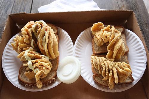 Buffalo Carp Sandwich