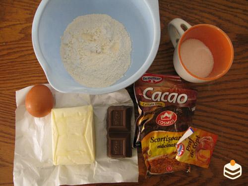 Crocant cu ciocolată