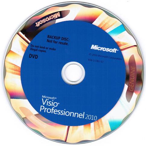 Microsoft Visio Professionel 2010