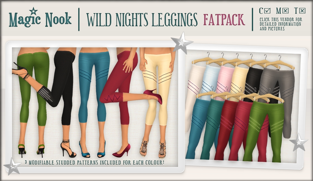 [MAGIC NOOK] Wild Nights Leggings