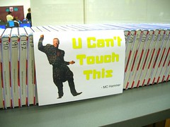 U Can't Touch This (Enokson) Tags: school music signs sign yearend hammer poster edmonton library libraries humor humour retro signage posters schools popular mchammer hammertime 1990s 1990 90s textbook middleschool textbooks consumerist mchammerpants juniorhigh hammerpants juniorhighschool humoroussigns schoolyear librarysignage canttouchthis parachutepants schooltextbook librarysigns librarysign middleschools libraryposter ucanttouchthis 1990s 90s humouroussigns juniorhighschools libraryposters vblibrary juniorhighschoollibrary juniorhighschoollibraries enokson