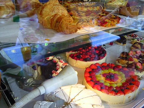 Cakes and pastries at Maison Bertaux Soho