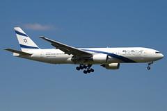 4X-ECD - 33169 - El Al Israel Airlines - Boeing 777-258ER - 100617 - Heathrow - Steven Gray - IMG_4668