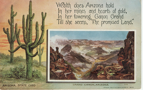 POSTCARD: Arizona Gold (Front)