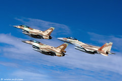 Aces high, F-16I Sufa, F-16D Barak, F-15I Ra'am, Israel Air Force. (xnir) Tags: sky people 20d clouds speed plane canon airplane photography eos israel fly flying is flyer fighter photographer force lift general eagle action aircraft aviation military air flight wing aeroplane f16 falcon barak boeing fighting elevation douglas viper  aviator dynamics pilot 2470l raam nir mcdonnell f15 airman lockheedmartin  iaf israelairforce 100400l f16d benyosef 100400 superiority     sufa  f16i f15i  xnir  idfaf  photoxnirgmailcom