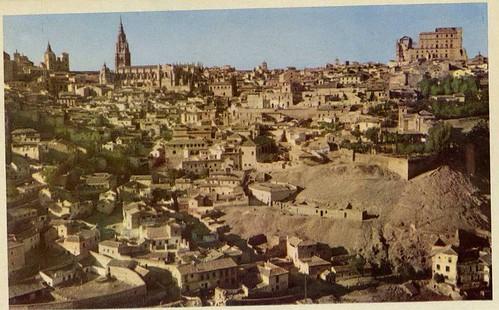 Vista general de Toledo, años 40.