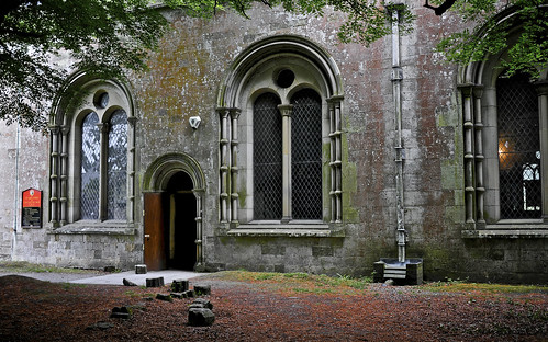 Entrance To Margam Abbey