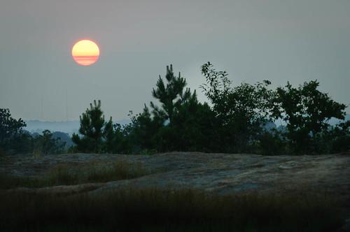 Arabia Mountain Sunrise