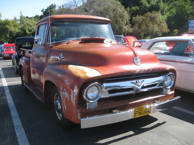 ford truck pickup f100 1956