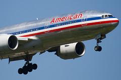 N795AN - 30257 - American Airlines - Boeing 777-223ER - 100617 - Heathrow - Steven Gray - IMG_4347