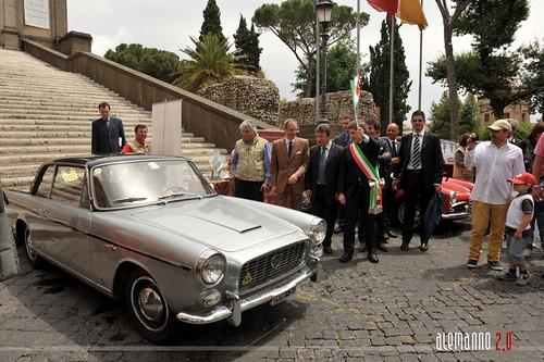 Prima Coppa d'oro auto d'epoca Appia Antica, Roma - Brindisi