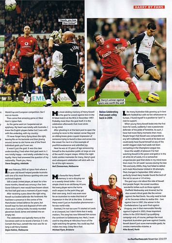 In November 2010 Australian FourFourTwo