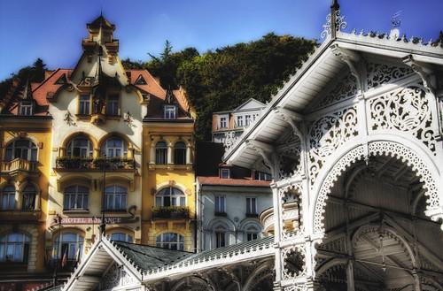 Karlovy vary. Pergola