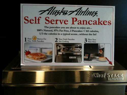 Self-Serve Pancakes!