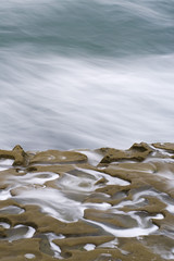 Swirling Pools (Johnathan Christensen) Tags: ocean california sea beach water rock lajolla