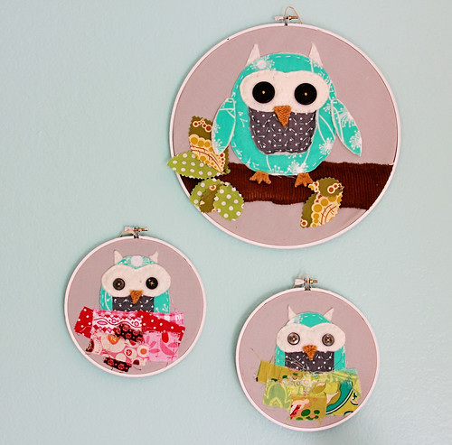 Scrappy Owl Hoops