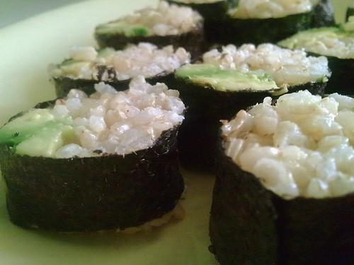 Maki avocado ruller