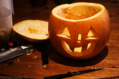 Halloween Pumpkin Carving 4