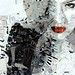 Derek Gores' 'Miss V' in progress for Thinkspace's 5 Year Anniversary show - Sat, Nov. 6th