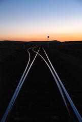 Uvada sunset... 20100927_6050 (listorama) Tags: railroad sunset sky utah track unionpacific siding 900 lightroom sr56 uvada ut2010sep rstaot