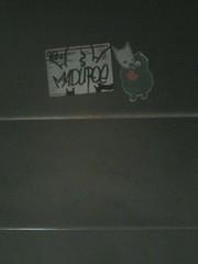 Good stickers, Bad combo (Maduroe.) Tags: boy star head josh question maduro ceito starheadboy