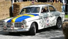 Volvo Amazon white vl 1966 (stkone) Tags: car race deutschland fotografie hamburg racing oldtimer rennen stadtpark revival