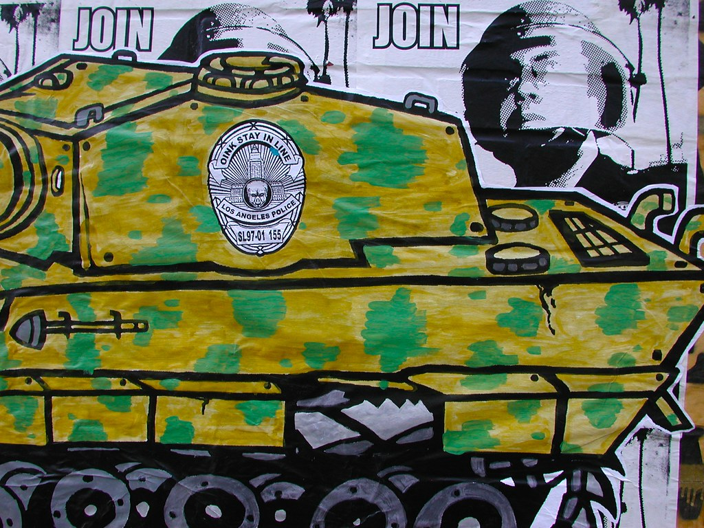 NMG, GRIDLOCK, Street Art, Los Angeles, Poster, Street Art