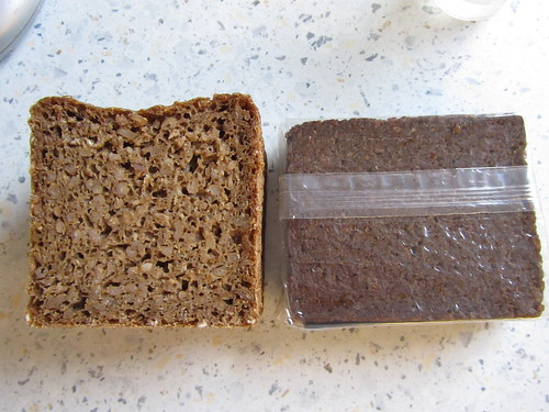 Comparison between Schwarzbrot & Westphalian Pumpernickel