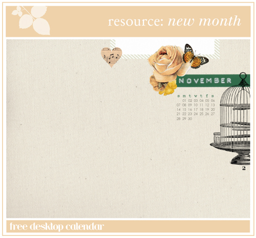 resource: november