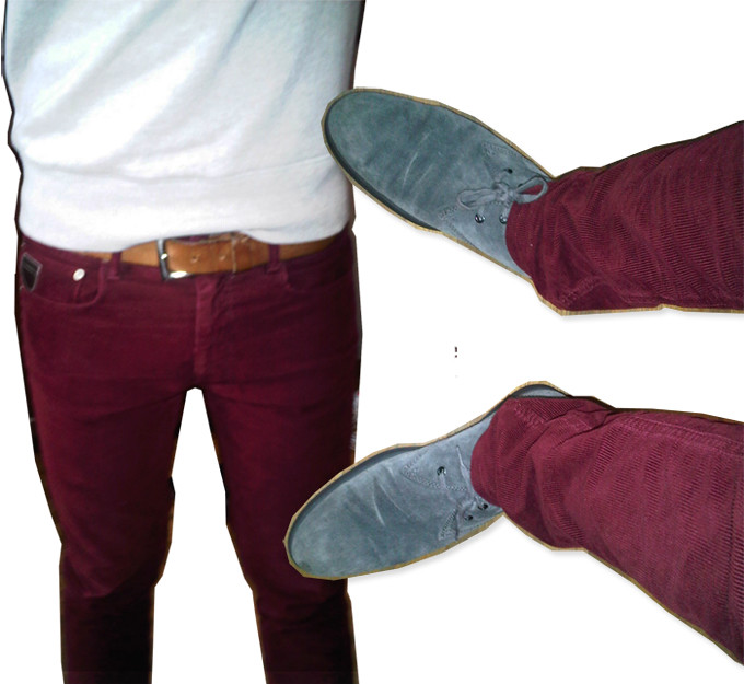 I'mnotfrank-burgundy courderoy