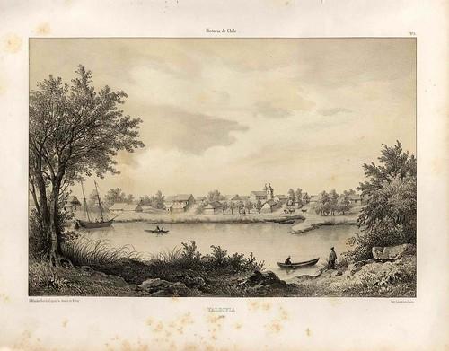008-Valdivia 1836-Atlas de la historia física y política de Chile-1854-Claudio Gay