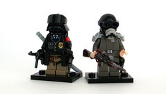 Weird War II - Axis bermensch (Zeessi) Tags: lego wwii weirdwar minifigures weirdwarii