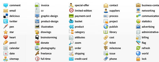 100+ Free High Quality Icon Sets for Web Designers and Developers
