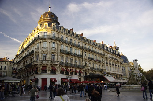 Montpellier's city centre. Photo: Gerry Patterson