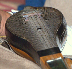 It's a King Cobra!! (BigMs.Take) Tags: music equipment bangladesh blindness snakeskin stringedinstrument dotara visualimpairment blindartist cobraskin shahjahanmunshi banglafolkmusic