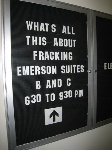 Fracking Forum
