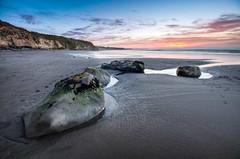 The Rocks of Back Beach #12 (Mark Solly (F-StopNinja)) Tags: sunset sea newzealand sky cliff pool rock moss sand rocks cliffs taranaki newplymouth sigma1020mm backbeach nikond90 marksolly