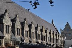 Gante (Bélgica) (littlecastle96) Tags: gante bélgica geografíahumana edificio monumento turismo mercado market belgium architecture arquitectura medieval patrimonio heritage