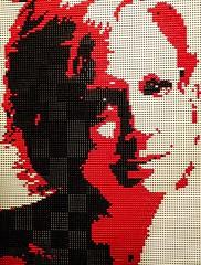 Untitled Portrait by Lego artist Nathan Sawaya (mharrsch) Tags: portrait red lego sculpture art nathansawaya artofthebrick exhibit omsi oregonmuseumscienceandindustry oregon mharrsch