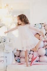 LeonaStage (olgagalkina1) Tags: leonastage nn people color canon portrait girl white balloons flowers powder light bright