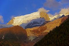 Derniers rayons de soleil sur le glacier de Taconnaz (bernarddelefosse) Tags: taconnaz glacier massifdumontblanc montagne leshouches hautesavoie rhônealpes
