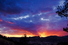 Capvespres del solstici ....... (davidgv60) Tags: david60 alcoi españa solsticio atardecer capvespres ski color sunset spain fujifilmhs30exr nubes nwn cielo natur natural paisvalenciá photodgv